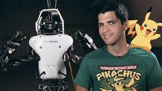 Эволюция роботов и юбилей покемонов