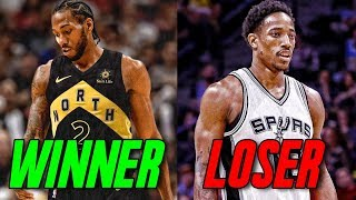 The Winners and Losers of the Kawhi Leonard Trade
