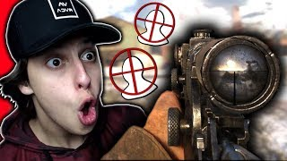 1ST REACTION TO NEW CALL OF DUTY!!!!! (Sniping Gameplay)