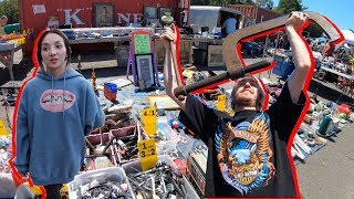 Best FLEA MARKET Finds And GARAGE SALE Scores | ONLY $5 FOR THIS ITEM?!?!