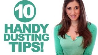 10 Handy Dusting Tips! Easy & Quick Ways How to Dust Your Home (Clean My Space)