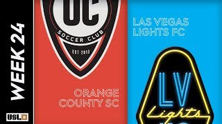 Orange County SC Vs. Las Vegas Lights FC: August 17th, 2019