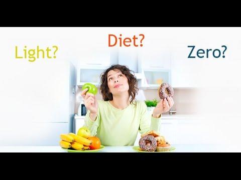 Alimentos Diet, Light, Zero e Suas Diferenças