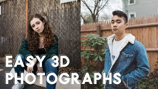 Easy 3D Photography GIF Tutorial | Mura Masa Effect