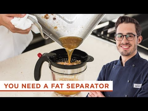 Why You Should Be Using a Fat Separator When Making Sauce and Gravy