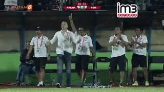 Arema Cronus Vs PSM Makassar 20 Highlights TSC 14 Oktober 2016