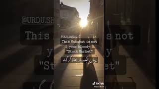 this mohabbat is not your bloody stock market Whatsapp Status New Video