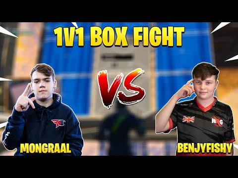 Mongraal Challenged BenjyFishy to 1v1 Box Fight And This Happened... (видео)