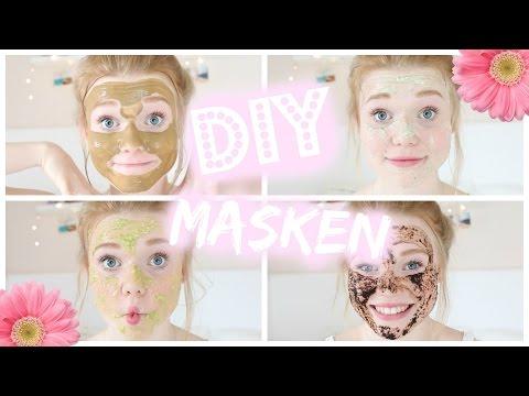 Die Masken für die fettige sich schuppende Gesichtshaut