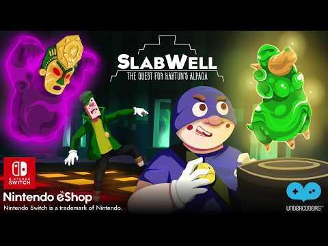 SlabWell - The Quest for Kaktun's Alpaca - Nintendo Switch Reveal Trailer thumbnail