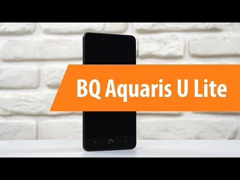 Распаковка  BQ Aquaris U Lite / Unboxing BQ Aquaris U Lite