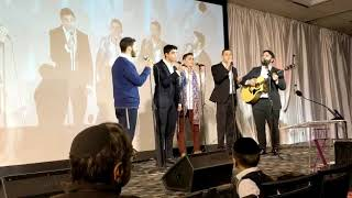 """Mesivta of Waterbury performs """"Tatty My King"""" at the 10th annual Project Inspire weekend in Stamford CT"""