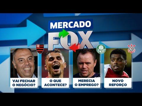 Fla negociando, Jemerson no Corinthians, Palmeiras e Bota de técnico novo e mais! Mercado FOX