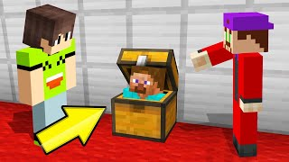 SNITCH The HIDER To SURVIVE! (Minecraft Snitch Hide And Seek)