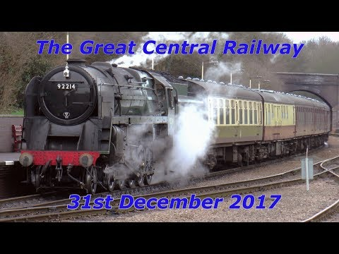 9F 92214 'Leicester City' & 8F 48624 on The Great Central Ra…