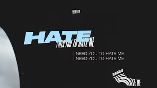 Musik-Video-Miniaturansicht zu I Need You To Hate Me Songtext von JC Stewart
