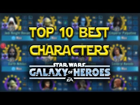 Download Top 10 Best Swgoh Jedi Characters Star Wars Galaxy Of Her