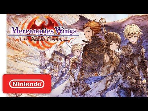 Mercenaries Wings: The False Phoenix - Launch Trailer - Nintendo Switch thumbnail
