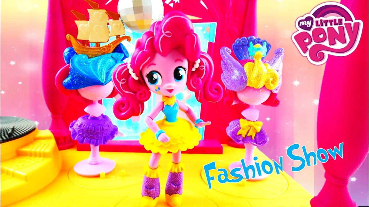 Pinkie Pie Doll Custom - Switch A Do Salon Toy Repaint My Little Pony Equestria Girls Mini