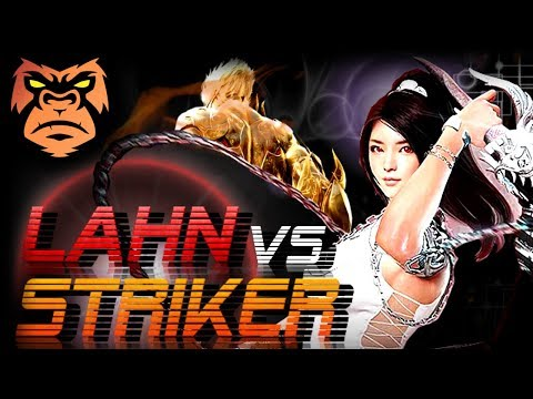 Striker vs Lahn   FakeUniforM Vs WTFBloo   I AM BAD OK?!   Black Desert Online PvP { PC / Xbox }