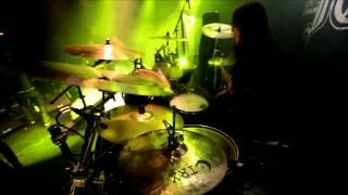 "Nils ""Dominator"" Fjellström - Dark Funeral - The End Of Human Race (Drumcam)"