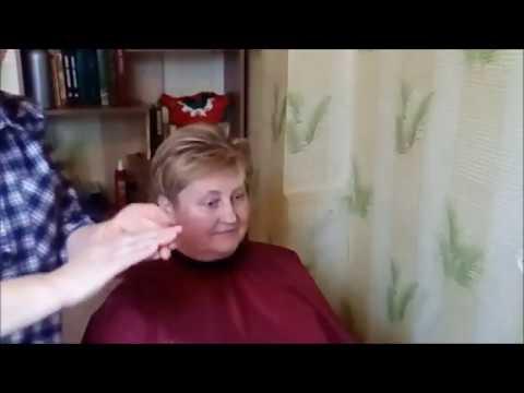 Короткая стрижка с выбритыми затылком и ВБЗ