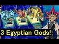 Ojama XYZ to summon 3 Egyptian Gods