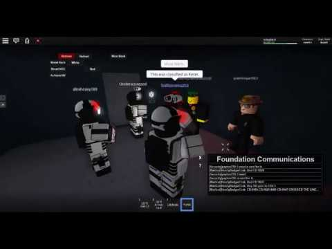 ROBLOX SCP:F   SCP Testing: SCP-1093 - смотреть онлайн на Hah Life