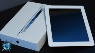 iPad 4 White Unboxing & Overview