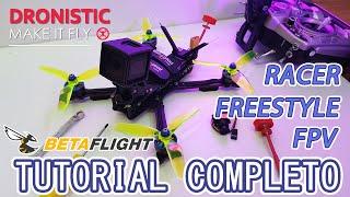 Cómo armar un drone fpv tutorial 2021 | freestyle racer #GoldQuadV1