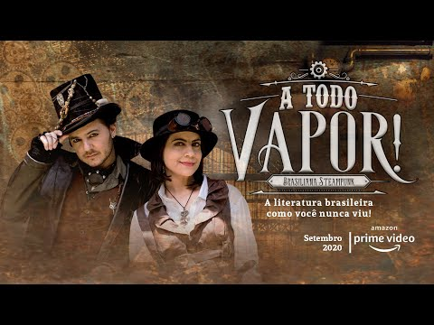 "Trailer A TODO VAPOR! - 1˚ Temporada - ""Os Crimes do Tarô"""