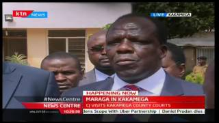 News Centre 18th November 2016 - Chief Justice Maraga in Kakamega County