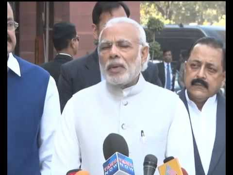 PM's statement to Media ahead of the Budget Session of Parliament