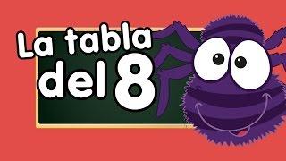 tabla del 8 cantada - Canción para niños - Canciones Infantiles - Doremila