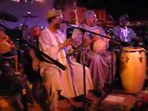 West African Highlife Band & Nigerian Brothers drum & chants