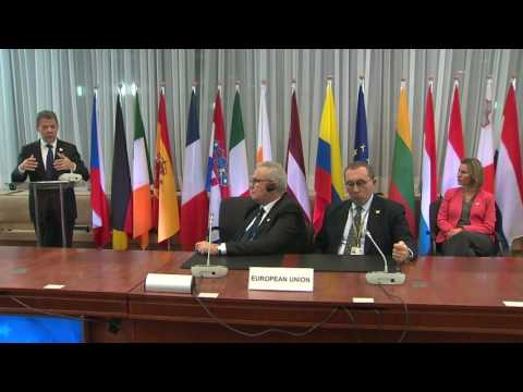Signature of the EU Trust Fund for Peace in Colombia