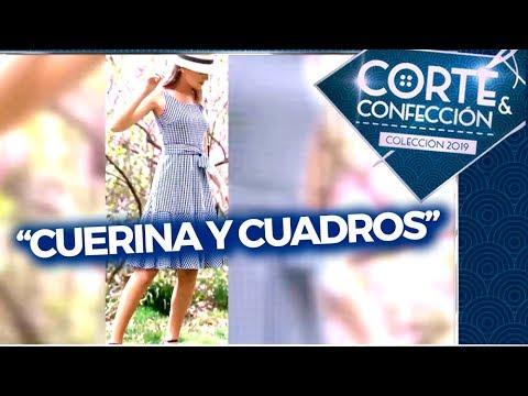 """Corte y confección - Programa 23/10/19 - Desafío: """"Cuerina y cuadros"""""""