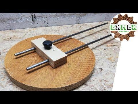 Bester Fräszirkel für die Bosch-Oberfräse! | exmex woodwork