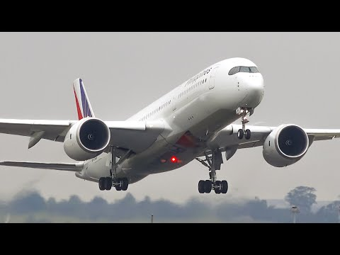 The THRILL of DEPARTURE | Melbourne Airport Plane Spotting
