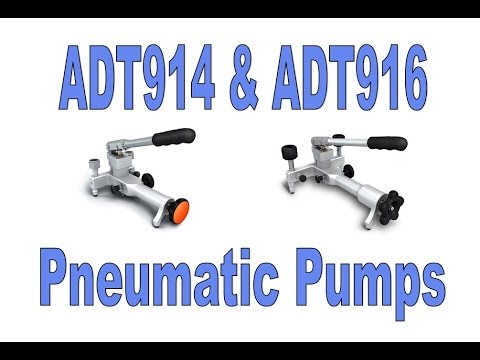 Additel ADT914 and 916 Pneumatic Pumps