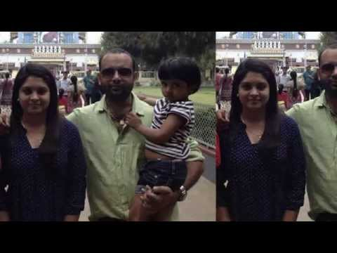 gayathri arun family daughter husband unseen pics