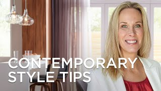 Contemporary Style Tips and Ideas