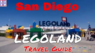 LEGOLAND California Theme Park - Helpful Info For Visitors   San Diego Travel Guide - Episode# 5