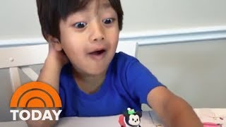 Forbes Features A 6-Year-Old Boy Who Made $11 Million Reviewing Toys On YouTube   TODAY