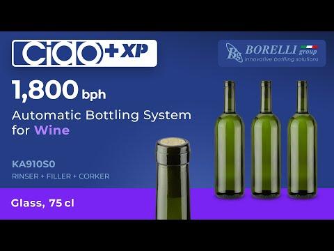 BORELLI automata palackozó monoblokkok