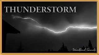 thunderstorm sounds for sleeping 1 hour - मुफ्त
