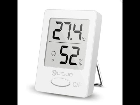 Digoo DG-TH1130 Indoor Hygrometer Thermometer Monitor