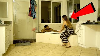 I Told Asia to Hop in the TUB with Me & THIS HAPPENED!