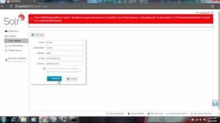 Apache Solr 6 Create Cores,Delete Core,command way and Admin console