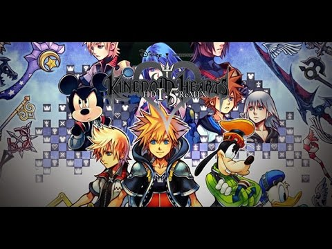 Gameplay de Kingdom Hearts HD 1.5 and 2.5 ReMIX